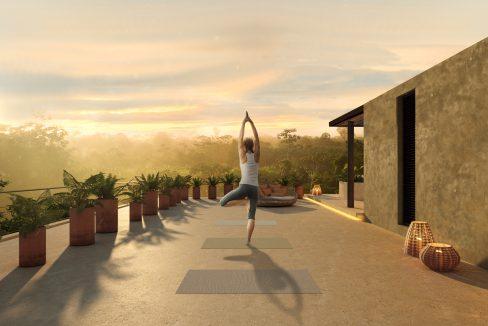 Amenidad Yoga Roof