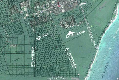 Solemn Aerea Mapa con PDU-01